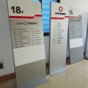 贵阳银行指示牌